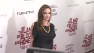Angelina Jolie at the 'In The Land Of Blood And Honey' New York Premiere Arrivals at New York NY