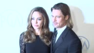 Angelina Jolie Brad Pitt at the 23rd Annual Producers Guild Awards on 1/21/12 in Beverly Hills CA