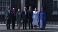 Angelina Jolie Meets David Cameron at 10 Downing Street on June 10 2014 in London England