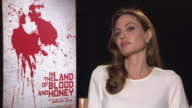 Angelina Jolie on being a Director/writer writing the story Brad Pitt reading the script In The Land of Blood and Honey Interviews 62nd Berlinale...