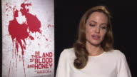 Angelina Jolie on the relationships of the character at In The Land of Milk and Honey Interviews 62nd Berlinale International Film Festival at Hotel...
