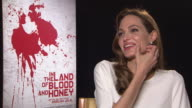 Angelina Jolie on the view point of the characters and the similarities to hers In The Land of Blood and Honey Interviews 62nd Berlinale...