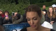 INTERVIEW Angelina Jolie on Vivienne JoliePitt starring in the film how she doesn't want her to be an actress traveling as a family when doing the...