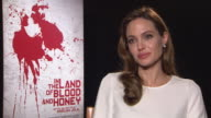 Angelina Jolie on why she sent the script out without her name at In The Land of Milk and Honey Interviews 62nd Berlinale International Film Festival...