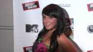 Angelina 'Jolie' Pivarnick at the 'Jersey Shore' Soundtrack Release Party at New York NY