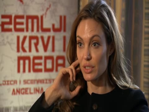 Angelina Jolie rejects accusations that the film she directed 'In the Land of Blood and Honey ' is onesided