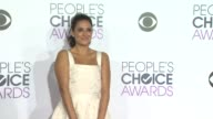 Angelique Cabral at the People's Choice Awards 2016 at Nokia Plaza LA LIVE on January 6 2016 in Los Angeles California