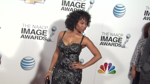 Angell Conwell at 44th NAACP Image Awards Arrivals on 2/1/13 in Los Angeles CA
