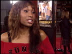Angell Conwell at the 'Barbershop 2' Premiere at Grauman's Chinese Theatre in Hollywood California on January 20 2004