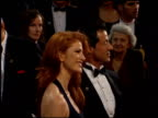 Angie Everhart at the 1995 Academy Awards Arrivals at the Shrine Auditorium in Los Angeles California on March 27 1995