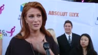 INTERVIEW Angie Everhart on supporting the cause and surviving cancer at Pathway To The Cure For Breast Cancer A Fundraiser Benefiting Susan G Komen...