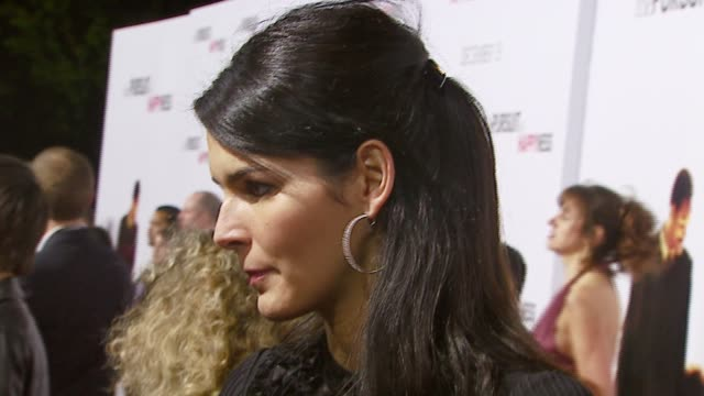 Angie Harmon at the 'In The Pursuit of Happyness' Los Angeles Premiere at the Mann Village Theatre in Westwood California on December 7 2006