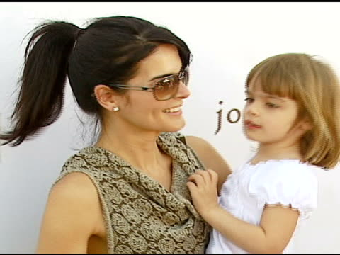Angie Harmon at the John Varvatos 5th Annual Stuart House Benefit at John Varvatos Boutique in Los Angeles California on March 11 2007