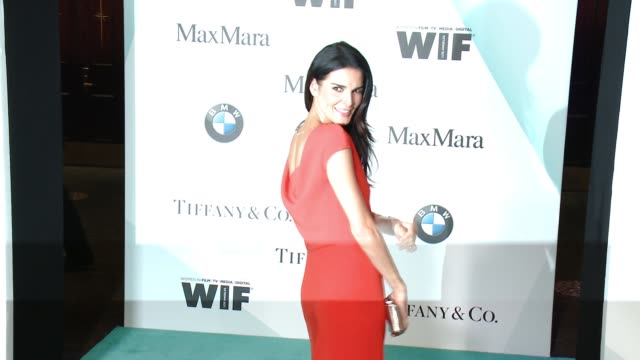 Angie Harmon at Women In Film 2015 Crystal Lucy Awards Presented By Max Mara BMW Of North America And Tiffany Co at the Hyatt Regency Century Plaza...