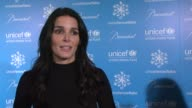 Angie Harmon on being honored to attend at the 10th Anniversary Of The UNICEF Snowflake Lighting at New York NY