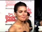 Angie Harmon on her character Veronica Cleeman and how pretentious she is at the 'Fun With Dick and Jane' Premiere at the Mann Village Theatre in...