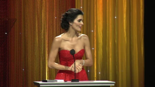 SPEECH Angie Harmon on her love for UNICEF and her work with the organization at Sixth Biennial UNICEF Ball Honoring David Beckham And CL Max Mikias...