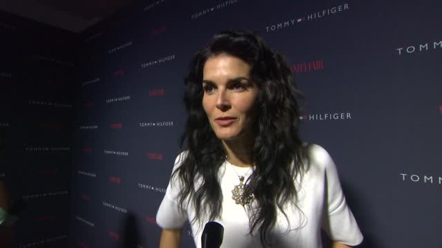 INTERVIEW Angie Harmon on why she wanted to support the partnership between Tommy Hilfiger Zooey Deschanel what words come to mind when thinking...