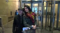 Angie Harmon outside the SiriusXM Radio studio in New York NY on 1/18/13