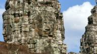 Angkor Bayon Temple at Angkor Thom in Cambodia