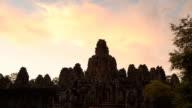 Angkor Thom Sunset at Bayon Cambodia