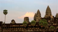 Angkor Wat Temple at Sunset, Siem Reap, Cambodia