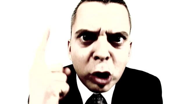 HD LOOP: Angry Businessman