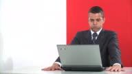 HD: Angry Businessman