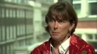 CCTV to be installed in England's abattoirs London INT Heather Hancock interview SOT