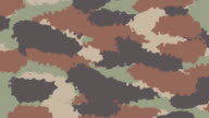 Animated Camouflage textured background