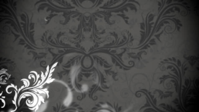 Animated flower pattern