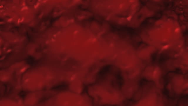 Animated Gushing Wall of Blood or Red Liquid