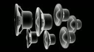 Animierte Lautsprecher