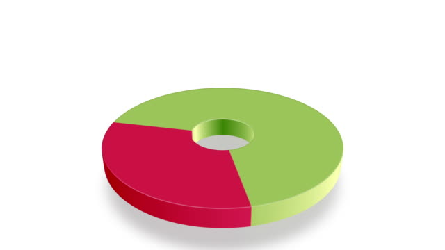 Animated Pie Chart HD Red