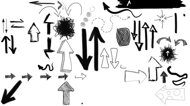 Animated Sketches - Hand Drawn Arrows (Full HD)