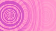 Animated Spiral in Pink and Purple as a Background.