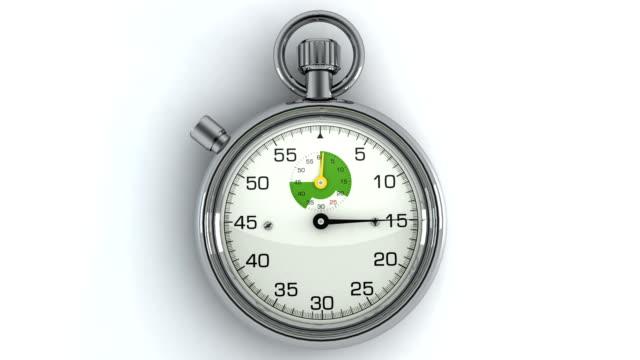 3 D Animazione cronometro
