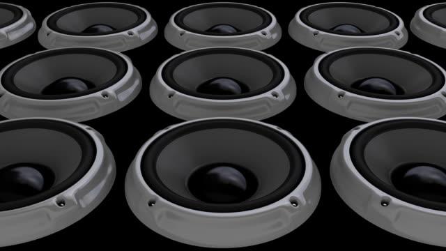 Animation Gray Speaker floor (HD, Loop/Cycle, Alpha)