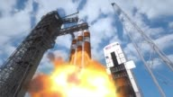/ animation of proposed 2014 Exploration Flight Test 1 of Orion 1 which will perform two orbits reaching an altitude higher than any achieved by a...