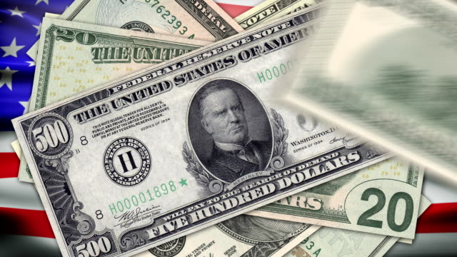 Animation on the American flag dollar