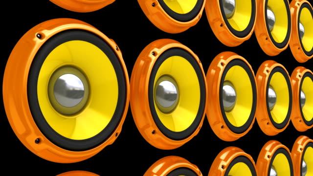 Animation Orange Redner Wall (HD, Loop/Radfahren, Alpha