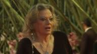Anita Ekberg at the La Dolce Vita Premiere 5th Rome Film Festival at Rome