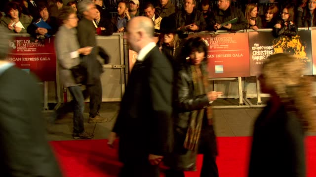 Anita Pallenberg at 'Crossfire Hurricane' Premiere 56th BFI London Film Festival at Odeon Leicester Square on October 18 2012 in London England