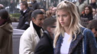 Anja Rubik at Celebrity Sightings in Paris on March 04 2016 in London England