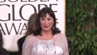 Anjelica Huston at 70th Annual Golden Globe Awards Arrivals 1/13/2013 in Beverly Hills CA