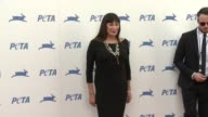 Anjelica Huston at PETA Celebrates 35th Anniversary With Sir Paul McCartney at Hollywood Palladium on September 30 2015 in Los Angeles California
