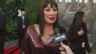 Anjelica Huston on the Vanity Fair Oscar Party at the 2011 Vanity Fair Oscar Party Arrivals at Hollywood CA