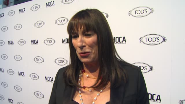 Anjelica Huston on why she wanted to be a part of the evening what she appreciates about Tod's the first piece of Tod's she ever owned what she...