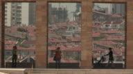 Ankara, Turkey through Ataturk Memorial Pillars