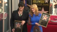 Ann and Nancy Wilson of HEART Honored with Star on the Hollywood Walk of Fame EVENT CAPSULE CHYRON Ann and Nancy Wilson of HEAR at Hollywood Walk Of...